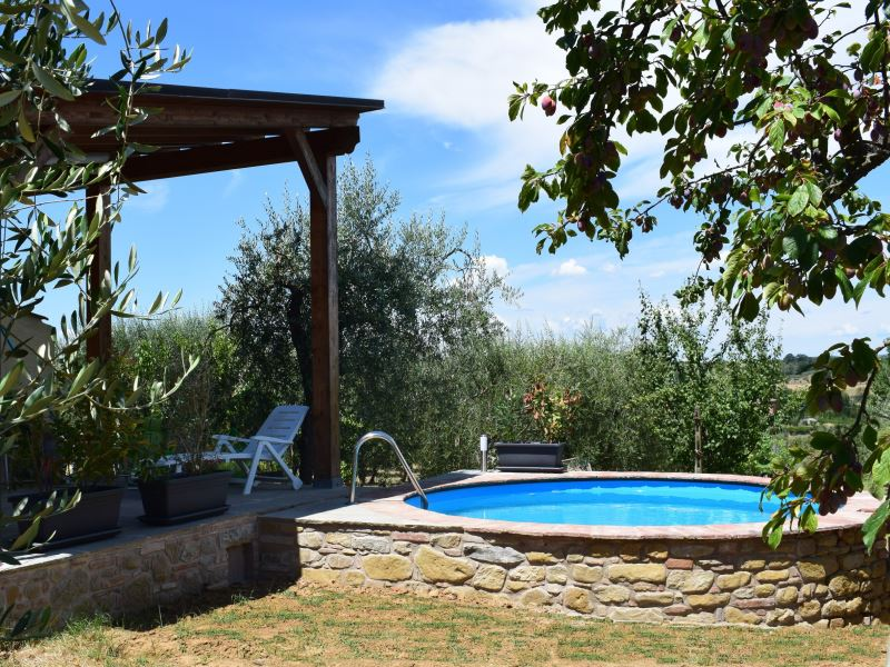 Private pool at Selva degli Ulivi