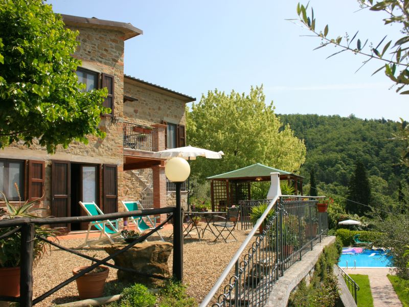 Arcobaleno 4, sleeps 4, private pool, walk to town