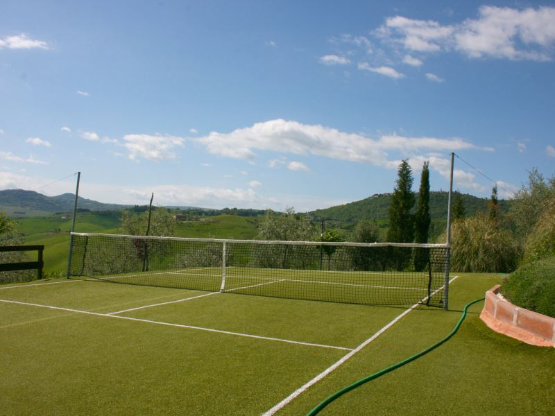 Casa Bella private tennis court