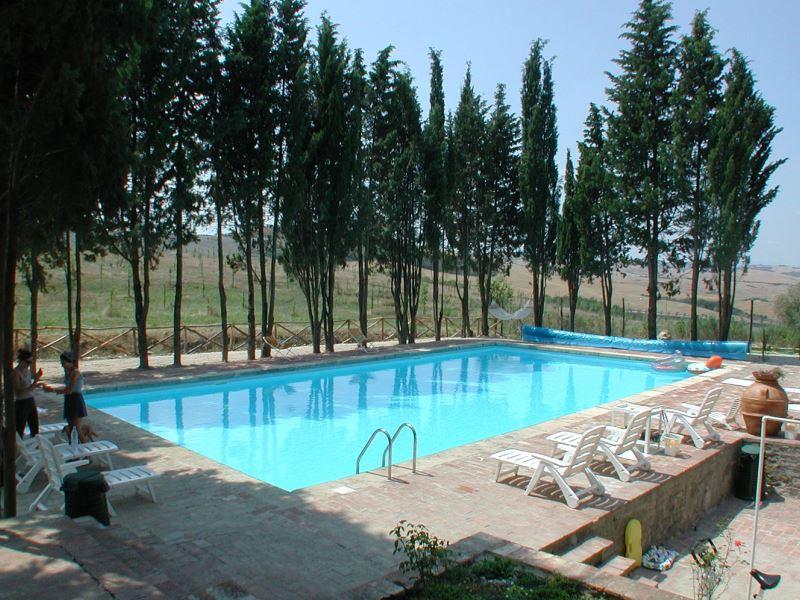 Swimming pool at Villa Aia Vecchia sleeps 35