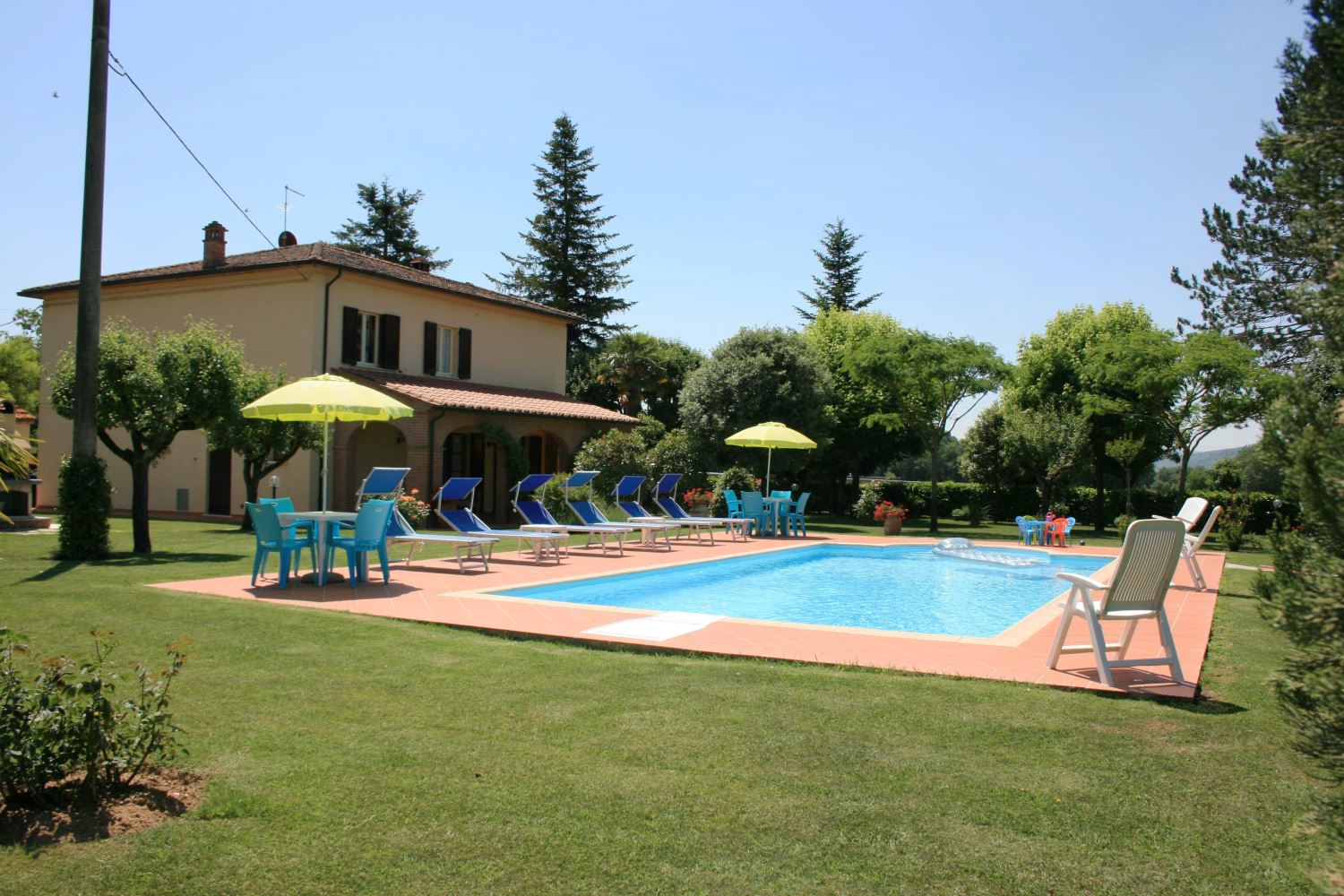 Villa Il Quadrifoglio, sleeps 10, private pool, Tuscany