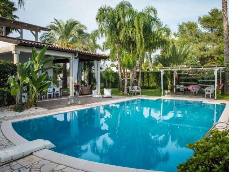 Affitti case vacanze ville a porto cesareo salento puglia - Villa con piscina salento ...