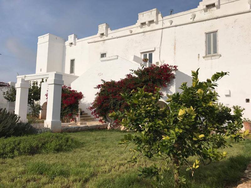 Casa Le Corti, in masseria con vista mare