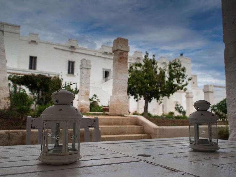 Casa La Quercia, in masseria con vista mare