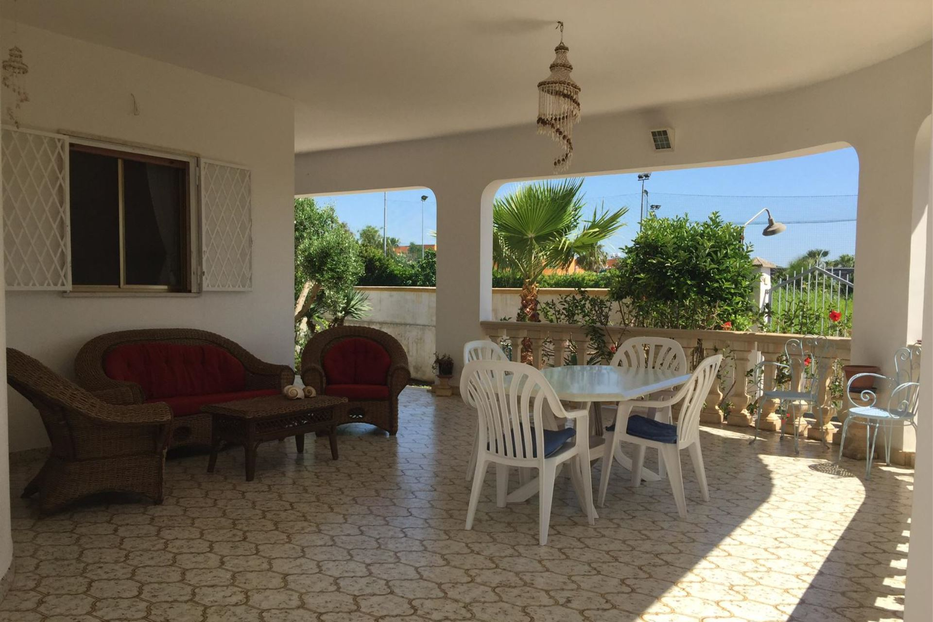 Villa Malva, villa con giardino vicino alla spiaggia