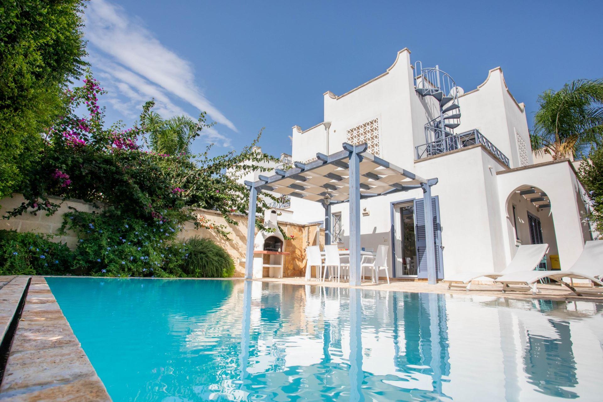 Villino Smeraldo, con piscina privata e giardino