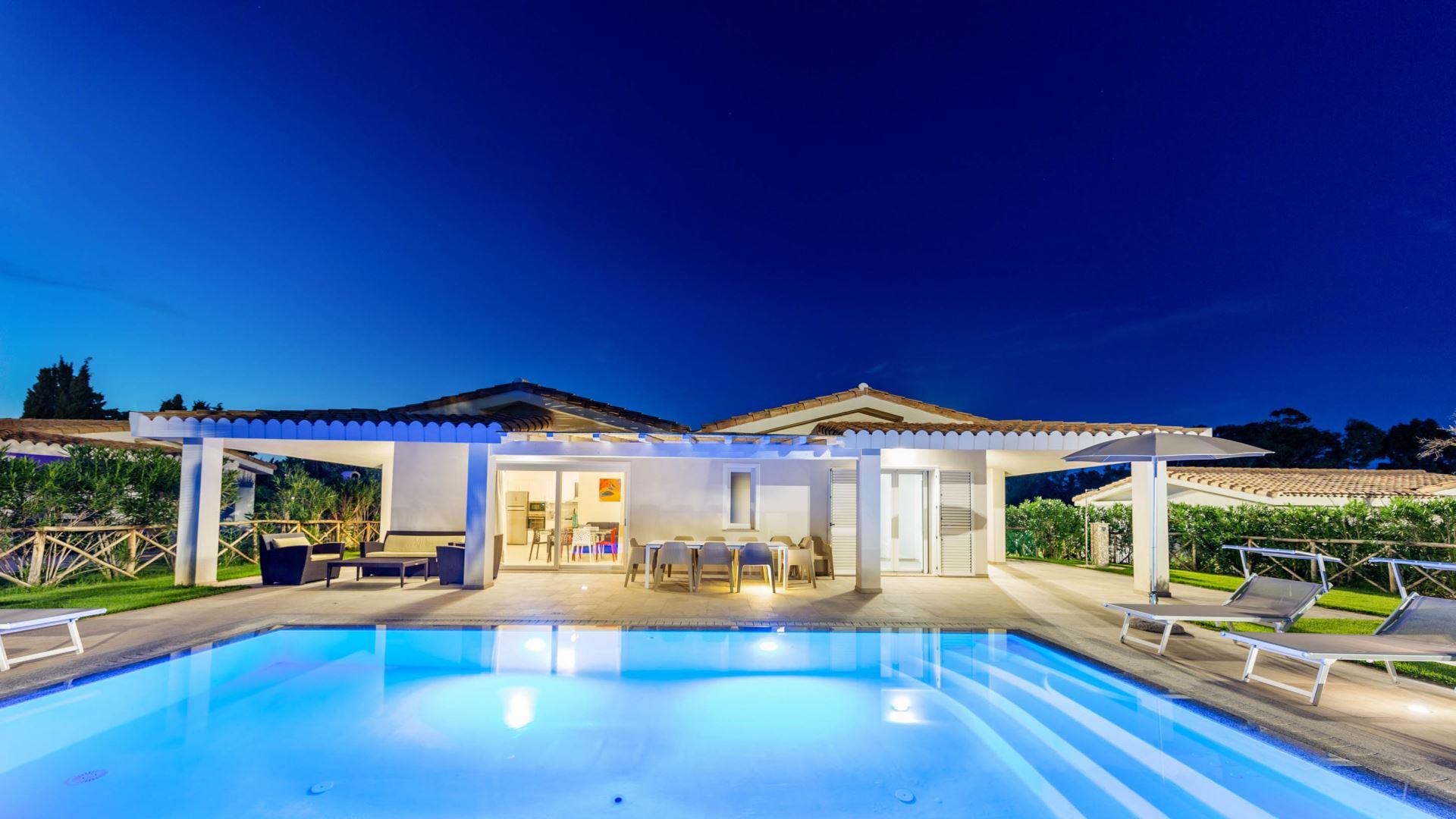 Ville d'Ogliastra, Villa con piscina privata V02