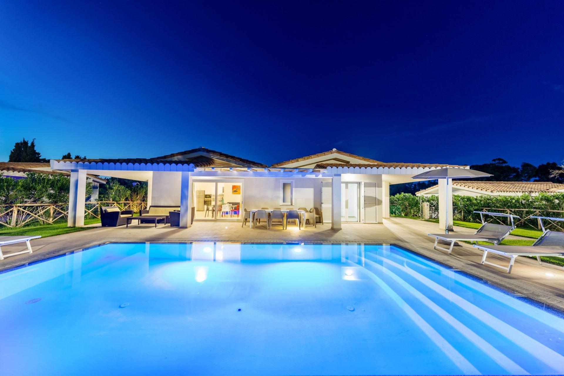 Ville d'Ogliastra, Villa con piscina privata V04